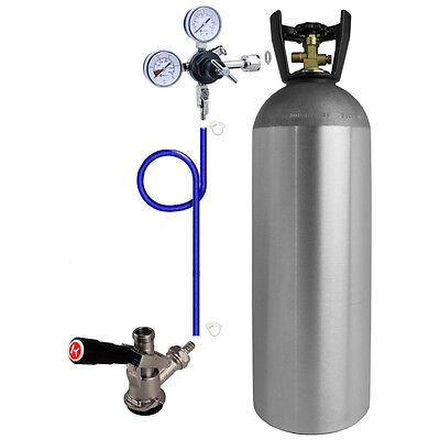 Kegco Direct Draw Kit For Kegerators And Jockey Boxes With 20 Lb. Co2 Tank