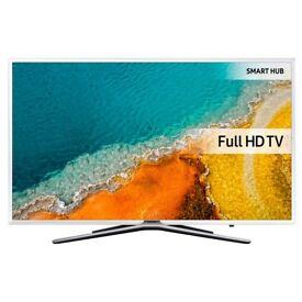 Samsung UE49K5510 White 49inch Full HD Smart LED TV,Built-in Freeview HD, 3xHDM