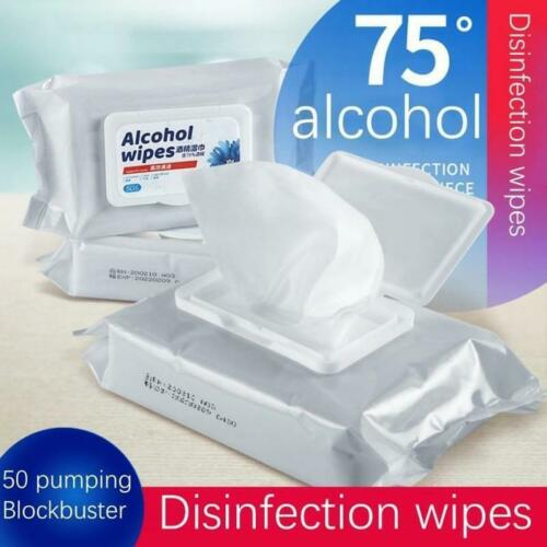 Alcohol Wipes Multi-Purpose Disinfectant Sanitary Wipes