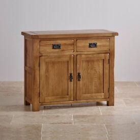 Oak Furnitureland Rustic Solid Oak Sideboard