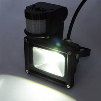 PIR LED Flood Wash Light Waterproof IP65 Outdoor Garden Lamp Bayswater Knox Area Preview