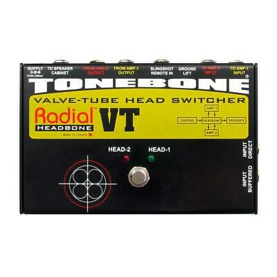 Radial Engineering ToneBone HEADBONE VT Valve Tube Head Switcher