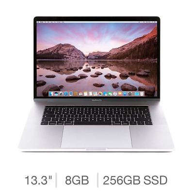"APPLE MacBook Pro 13"" with Touch Bar - 256GB SSD, Silver (2018) Latest Model"