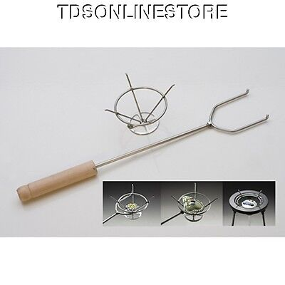 Stainless Steel Torching Basket With Handle For Enameling Etc.