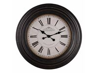 Large Brand New feature clock (oak furniture land) rrp £149