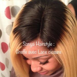 Coiffeuse professionnelle africaine