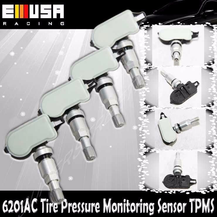 1Set 4PCS Tire Pressure Sensor 6201 TPMS for Hyundai 12-14 Accent 13-14 Elantra