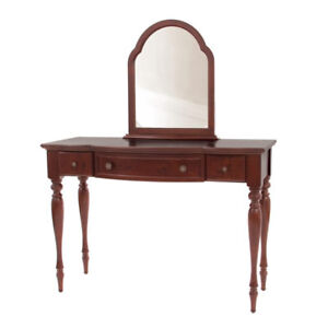 Bombay Wooden Vanity Markup Table with Mirror