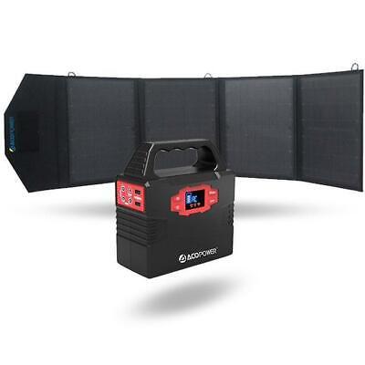 ACOPOWER 150Wh Solar Power Generator Kit