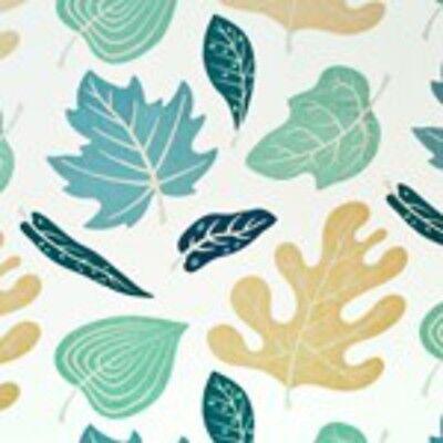 Ткань Awesome Linen Leaf Print Drapery