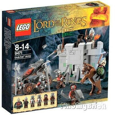 Lego Lord of the Rings 9471 Uruk-Hai Army - Eomer Rohan Soldier Minifigures NEW