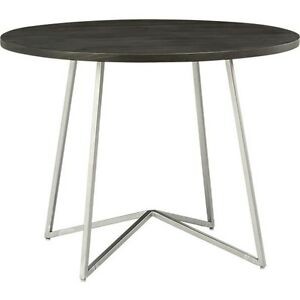 CB2 Round Peak Dining Table