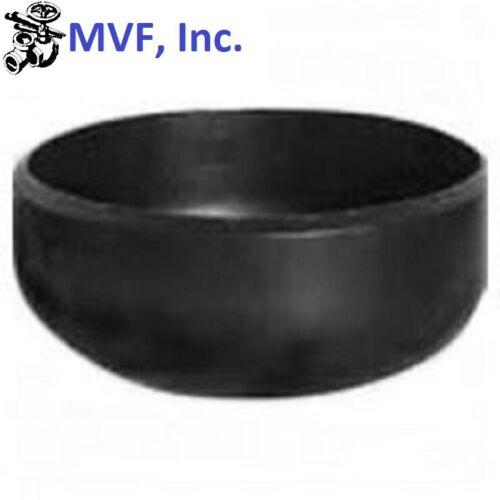 "6"" Schedule 40 (STD) Butt-Weld Pipe Cap WPB Carbon Steel Weld Fitting <B061501"