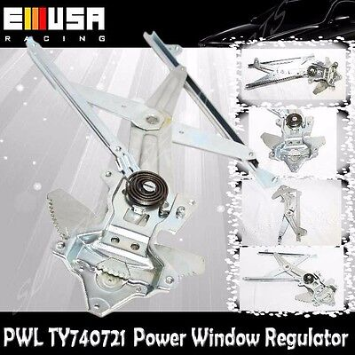 Front Left Driver Window Regulator w/o Motor 97-01 Toyota Camry XLE/LE/CE 740721