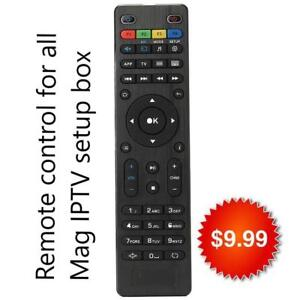 *Brand New* Replacement IPTV Remote Control For MAG 250, 254, 322,324, Buzz TV Box or Global Media Box remote