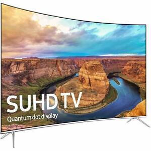 "SAMSUNG 65"" LED 4K SMART CURVED SUHDTV 8500 SERIES *NEW IN BOX WITH 5 YEAR WARRANTY!*"