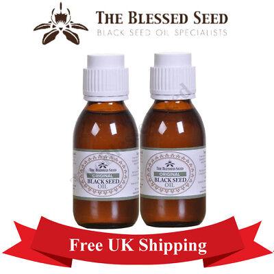 Original Black Seed Oil Cold Pressed Nigella Kalonji 200 ML By TheBlessedSeed
