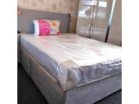 ☑️▫️ALL GREY DIVAN BEDS ON OFFER AT UNBEATABLE LOW PRICES☑️▫️