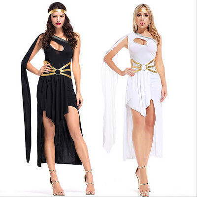 Women Greek Goddess Arabian Princess Halloween Xmas Cosplay Costume Fancy (Princess Halloween Kostüme)