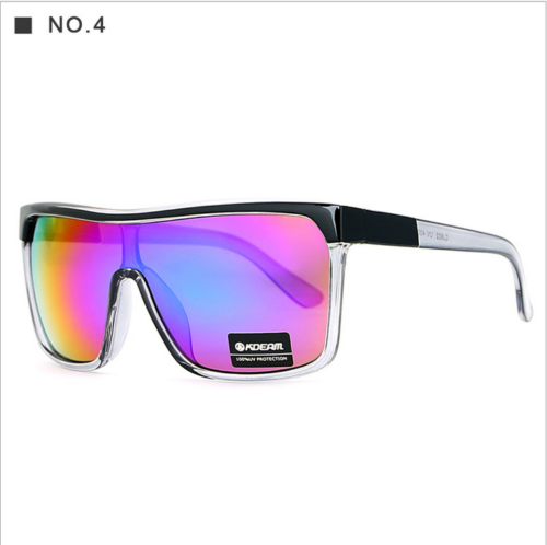 KDEMA Men Women Large Frame Sport Sunglasses Outdoor Riding Fishing Glasses New