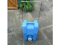 Fiamma Roll Tank 23L. Portable Blue Fresh Water Carrier Water Container Barrel