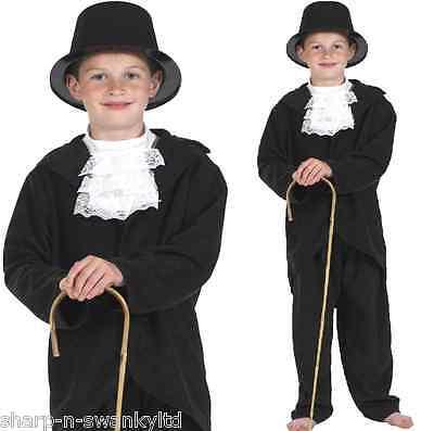 Jungen Charles Dickens Viktorianisch Gentleman Büchertag Kostüm Kleid - Viktorianischen Charles Dickens Kostüm