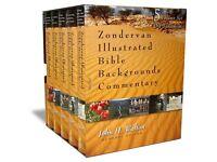 Zondervan Illustrated Bible Backgrounds Commentary Old Testament 5 Volume Set