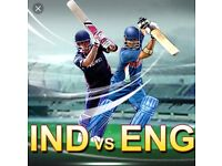 England v India - Lords -2 Tickets - Sat 11th Aug