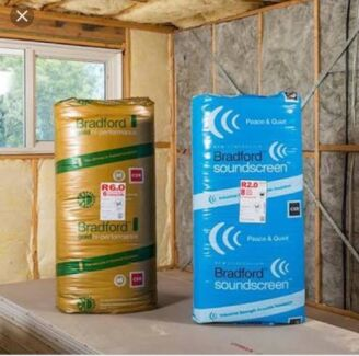Insulation & Whirlybird Installation