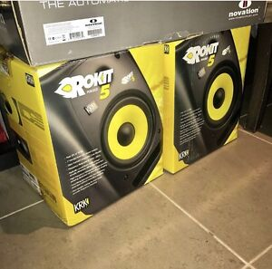 """KRK ROKIT 5""""s Plus Xlr Cables South Morang Whittlesea Area Preview"""