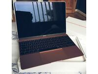 "Apple Macbook 12"" 256GB - Rose Gold - One month old - £850"