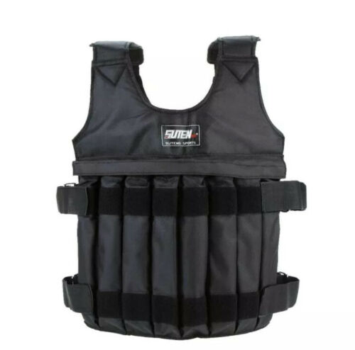 Adjustable Weight Vest 110 lb Weighted Workout Exercise