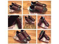 VaIentlno Rockrunner Unisex Green Camo Men Women Trainers Sneakers Shoes Footwear Box & Dustbag
