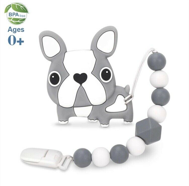 Brand New Baby Teether With Clip