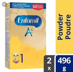 3 BOXES OF UNOPENED ENFAMIL A+ BABY FORMULA