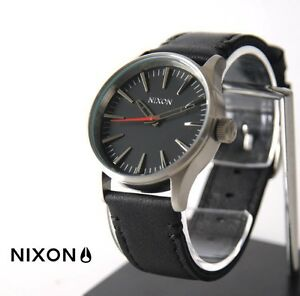 NIXON SENTRY WATCH FOR SALE BLACK/SILVER