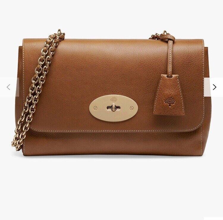 ad740e4da638 Mulberry Lily Medium Handbag in Oak