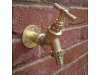 Outside tap supplied and fitted £55