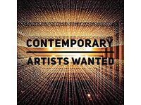 Contemporary Artists Wanted