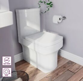 Brand new in box- Victoria plumb Vermont close coupled toilet