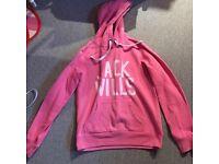 Jack wills pink hoodie!