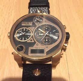 Diesel men's big daddy chronograph watch