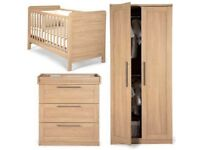 Mamas and papas rialto nursery furniture set