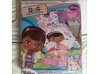 Girl's Single Duvet Set NEW