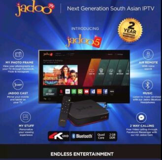 Jadoo 5 ** No Recharge No Subscription** Main Distributor