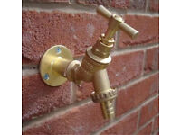 Outside tap supplied and fitted only £50.