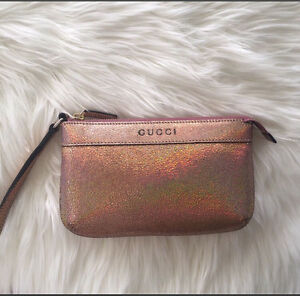 NEW! Authentic Gucci Wristlet Leather Clutch Perth Perth City Area Preview