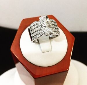 14K White Gold Custom Crafted Diamond Ring*Compare @ $2,200+