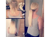 CHRISTMAS OFER £170 Full Head hair extensions! MICRORINGS, NANORINGS, TAPEIN, KERATIN BONDS