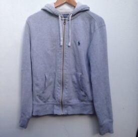 Ralph Lauren grey hoodie size small